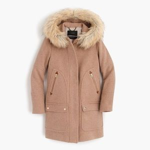 J Crew Chateau Parka in Sandstone
